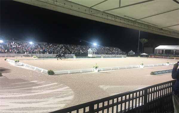 2 The main dressage arena at the Adequan Global Dressage Festival.jpg